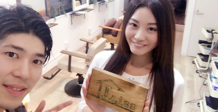 モデルで2014MissUniverseJapan第5位の『秦まどか』さんにご来店いただきました。