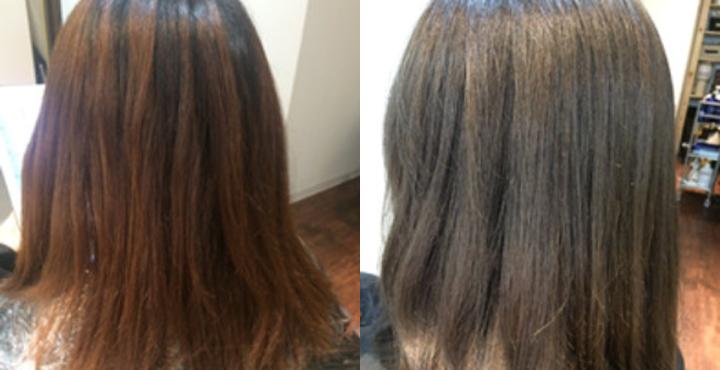 外国人風、透明感のあるイルミナカラー!髪質・希望の色に合わせてカラー剤を選びます!
