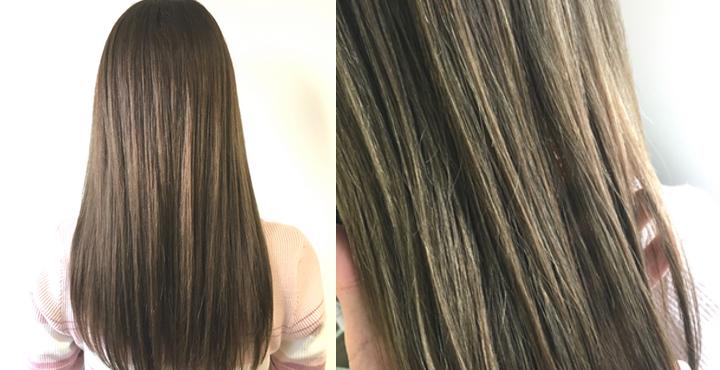 明るめブリーチ毛にイルミナカラーのサファリで外国人風シアーベージュもオススメ。