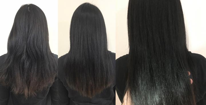 97%トリートメント縮毛矯正でサラサラ扱いやすい美髪へ。