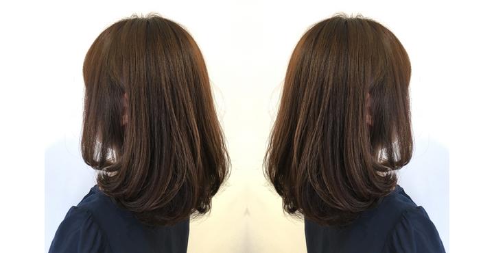 《美髪ワンカールミディアム》リタッチ(根元のカラー)のみでも美髪になれます。