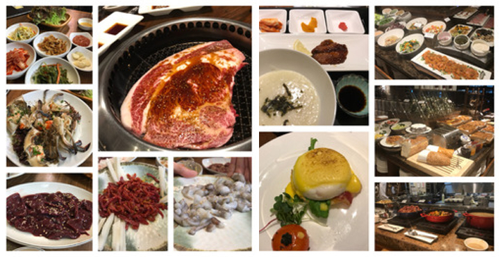 韓国でのご飯