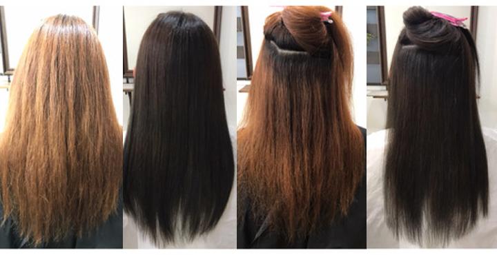Liss恵比寿《97%トリートメント成分縮毛矯正+カラーフルコース》