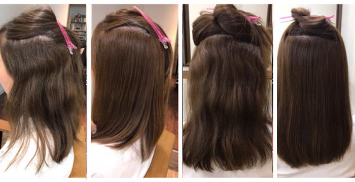 クセ毛の方は縮毛矯正をかけるのが一番、楽チンになるのかな?