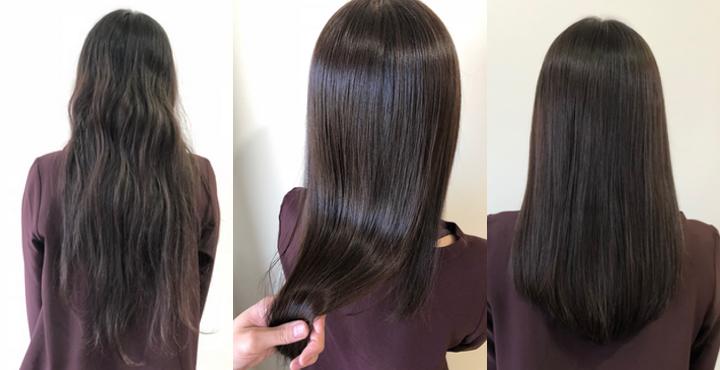 10ヶ月ぶりの美容室。97%トリートメント成分の縮毛矯正で美髪に