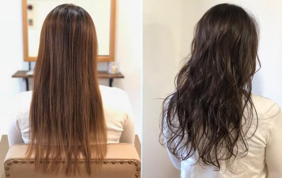 アディクシーカラー《アッシュグレー》明るい髪から透明感のあるヘアカラーに。