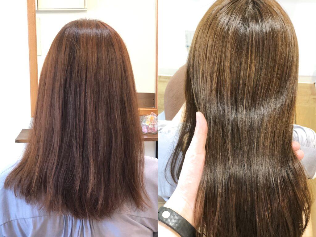 97%トリートメント成分縮毛矯正恵比寿髪質改善