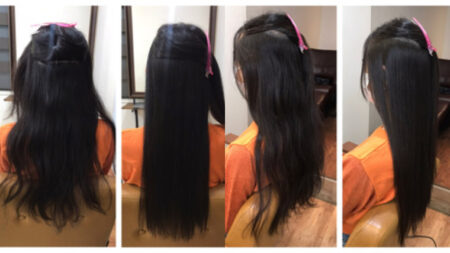 必要ない髪質でも^ ^97%トリートメント成分縮毛矯正髪質改善