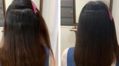97%トリートメント縮毛矯正髪質改善で美髪を育てる♪