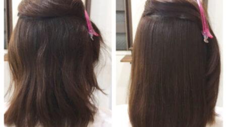 縮毛矯正が必要な髪か必要ではない髪なのか?!