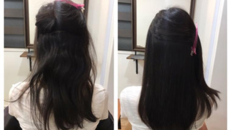 梅雨も夏も耐えられない!くせ毛ちゃんには97%トリートメント縮毛矯正髪質改善がおすすめ!