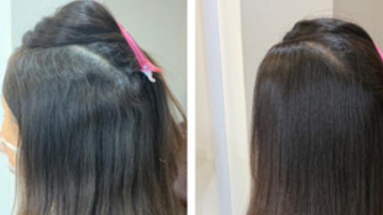 クセが強い方にも97%トリートメント縮毛矯正髪質改善